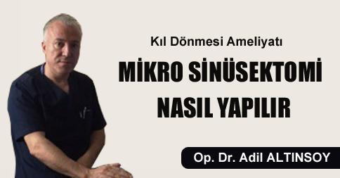 Ankara Mikro Sinüsektomi